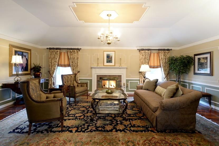 Inverness Living Room Design