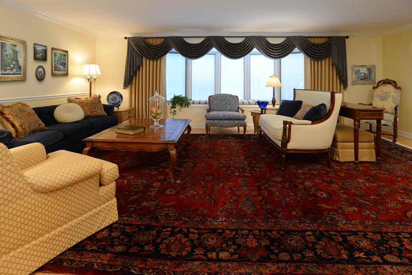 Arlington Heights Ranch Living Room