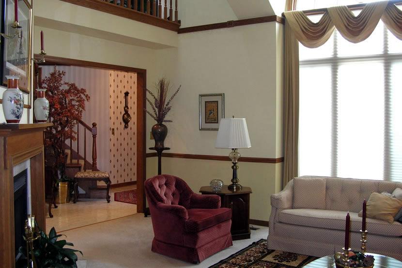 Batavia Living Room Entry